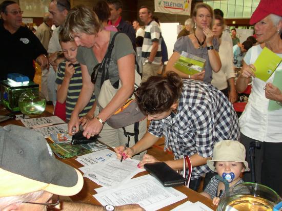 Adhésion Ecole de Pêche Journée des Associations 2009