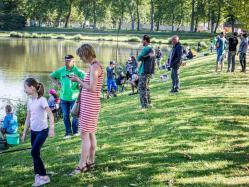 Le concours de pêche