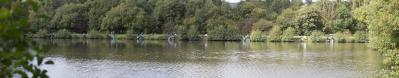 Pêche sur le plan d'eau de Betton
