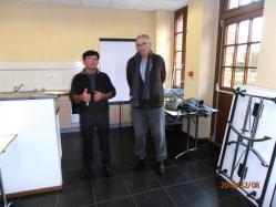 Jacky Mardelé et Patrick Bouget